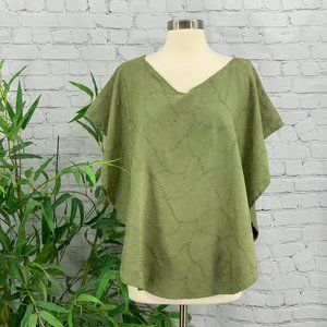 🎉Lovedbaby Green Embroidered Nursing Cover